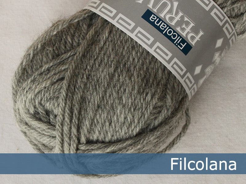 Filcolana Peruvian Highland Wool - Light Grey (melange) - 954
