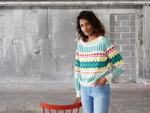Rytme Sweater Knitting Pattern