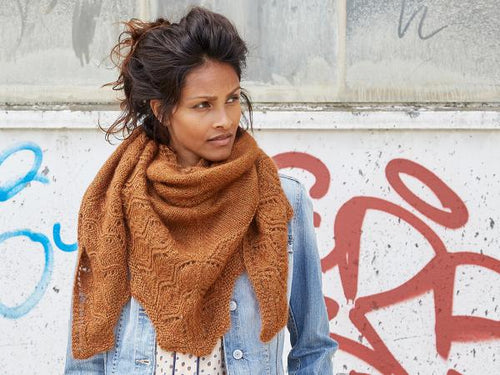 Tiliana - a Large, Wonderful Shawl Knitting Pattern