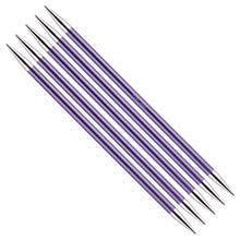 Load image into Gallery viewer, KnitPro Zing Double Pointed Needles - 20cm Length