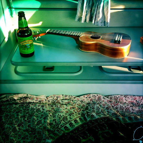 Still Life with Beer and Ukelele - Vanagon Interior