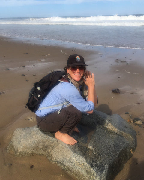 Hello World! Photo taken by my mom when we were on the Cape. This beach boulder was the perfect spot to bust out a spontaneous mulasana.