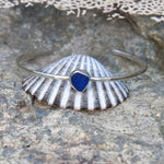 Beachcomber-Seaglass-Stacking-Cuff-Cobalt-Blue-Finished-Example