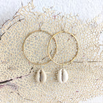 Cowry-Shell-Hoops-Brass-And-Sterling-Silver-Handmade