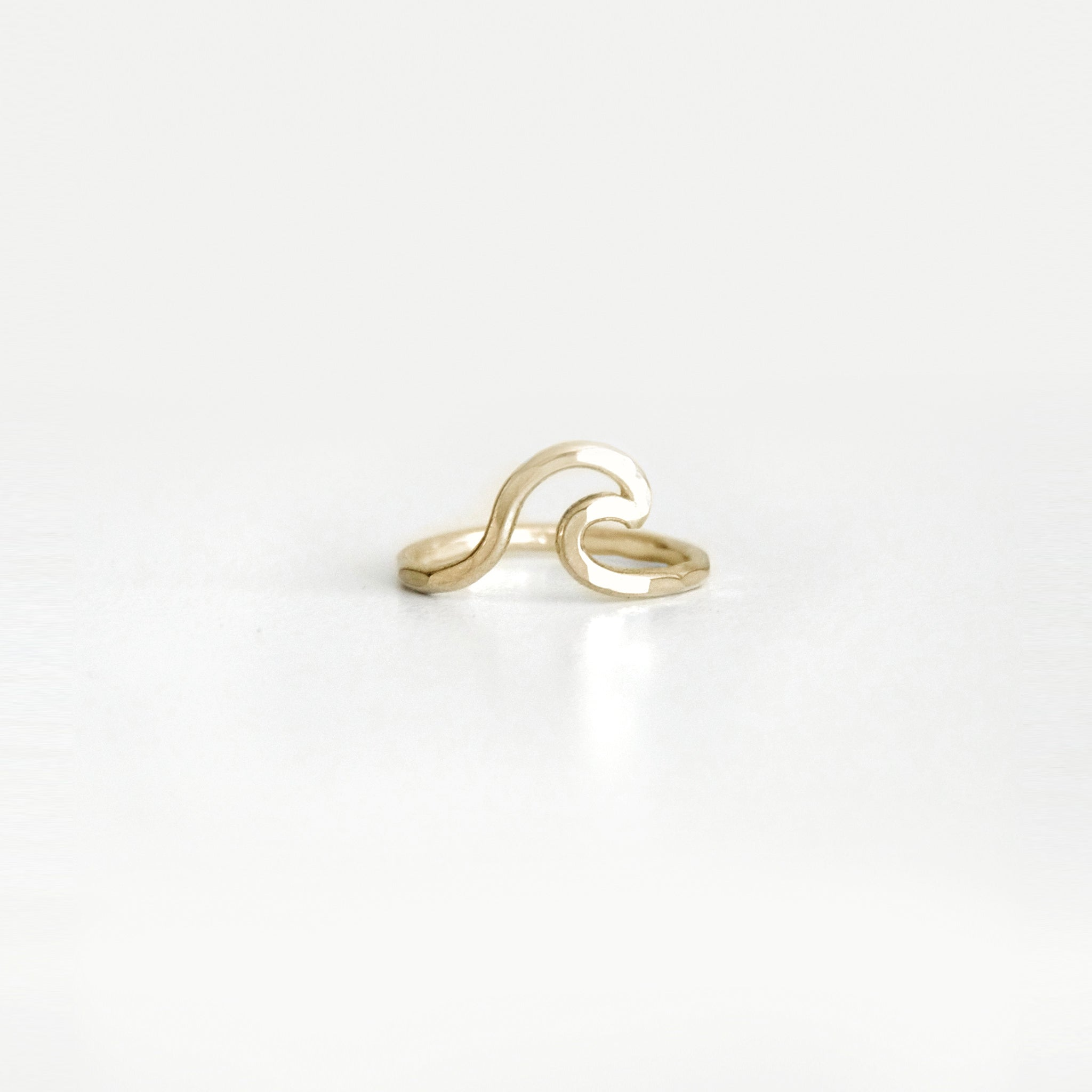 Brass Wave Ring – Bohemian Jewelry – Special J Creations
