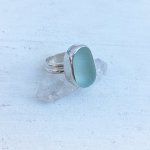 Handcrafted-Super-Gemmy-Seafoam-Seaglass-and-Sterling-Silver-Statement-Ring-by-SpecialJCreations