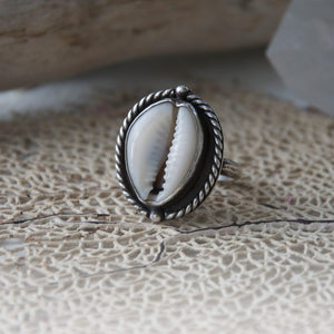 Nautical-Sterling-Silver-Cowry-Shell-Ring-by-Special-J-Creations
