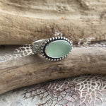 Seafoam-Seaglass-and-Sterling-Silver-Statement-Ring