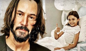 Keanu Reeves Secret Cancer Foundation to Fund Children's Hospitals