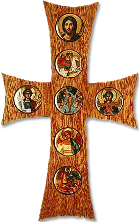 Seven-Button Cross