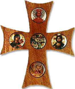 Five-Button Cross