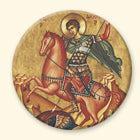 St Demetrius on a Horse: B