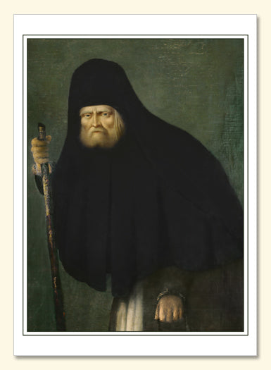 St Seraphim Portrait Card