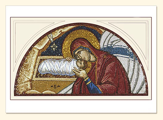Nativity Mosaic by Holy Nativity Convent Card