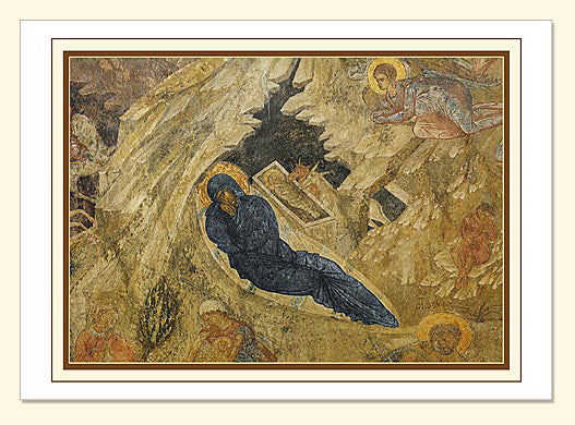 Nativity at Mystra Card