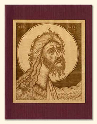 St. John the Baptist Wood Veneer Card