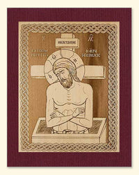 Extreme Humility Icon Wood Veneer Card