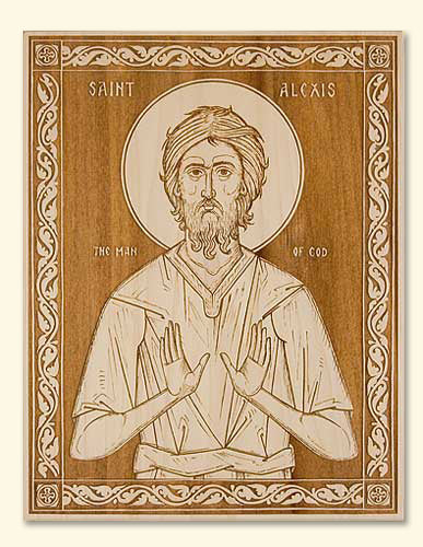St. Alexis Man of God Icon