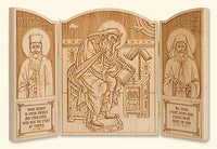 St. Isaac the Syrian Triptych