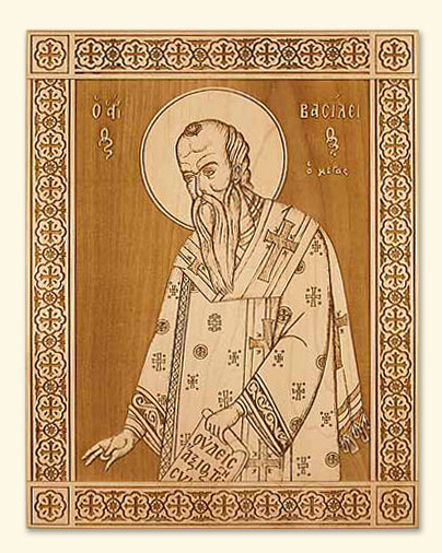 St. Basil the Great Icon