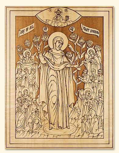 Mother of God the Joy of All Who Sorrow Icon