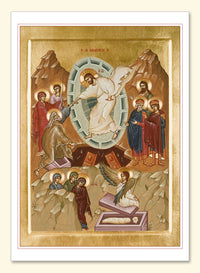Resurrection Icon by Holy Nativity Convent Card