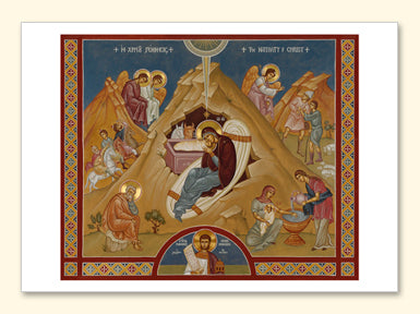 Nativity Canvas Card