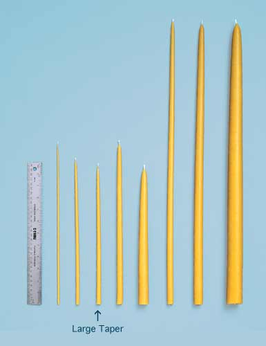 Bulk Large Tapers