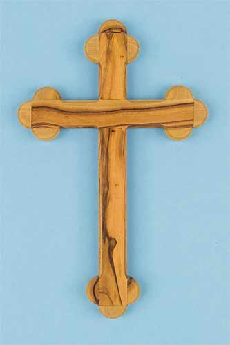 Plain Olivewood Cross
