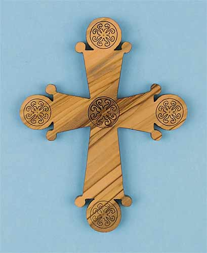 Medium St. Isaac Wall Cross