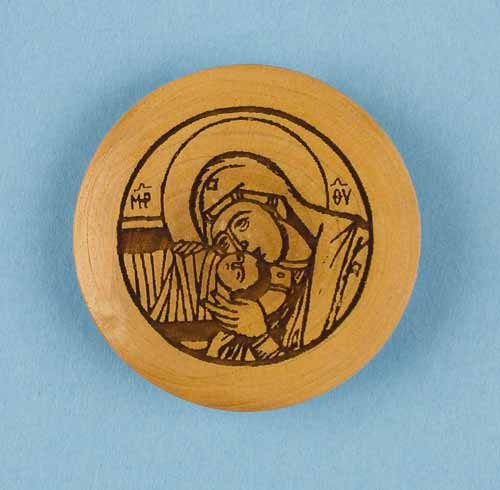 Nativity Brooch