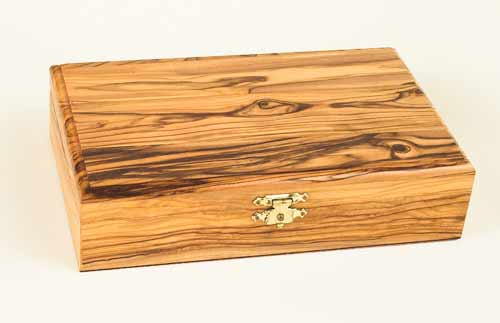 Olivewood Large Rectangle Box