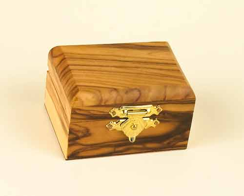 Olivewood Small Rectangle Box