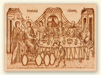 Wedding at Cana Laser-engraved Icon
