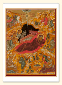 Russian Nativity Card
