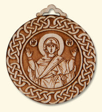 Mother of God Side of pendant