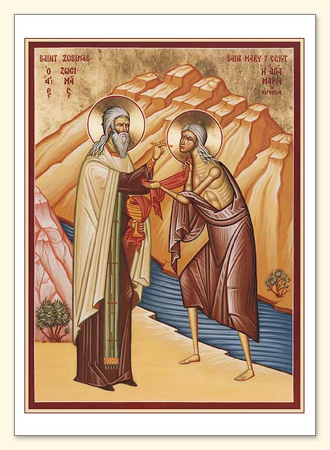 St. Mary of Egypt Card
