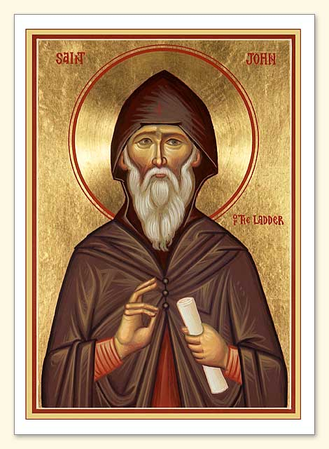 St. John Climacus Greeting Card