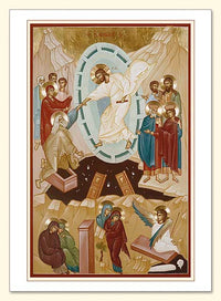 Resurrection Icon Two Card