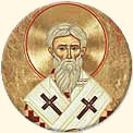 St. Cyprian Icon Button