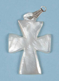 A502 Small Mother-of-Pearl Cross