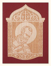 G246 St. Nicholas Wood Veneer Card Two