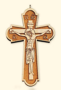 L140 Priest's Laser Engraved Pectoral Cross