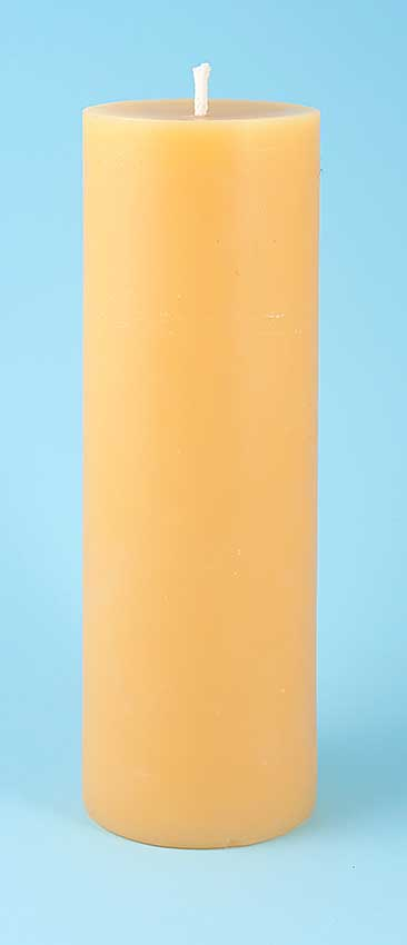 T069 Extra Large (3 x 9 inch) Pillar Candle