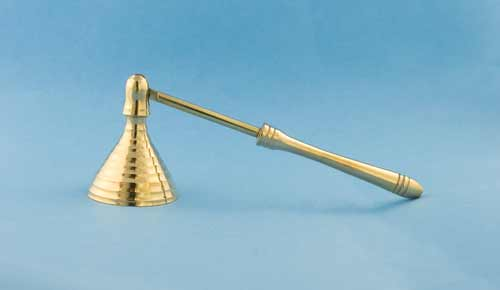 Small Brass Candle Snuffer