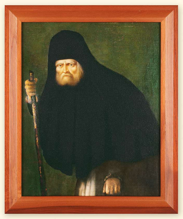 I-104 St. Seraphim of Sarov Inkjet Canvas Framed Print