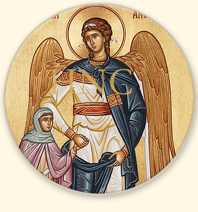 Guardian Angel with Girl