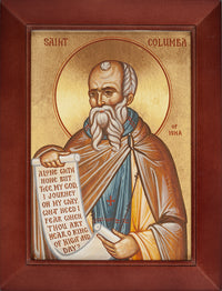 I-105 St. Columba of Iona Canvas Print