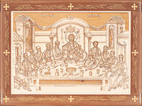 Mystical Supper Laser-engraved Icon