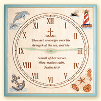 Nautical Theme Clock